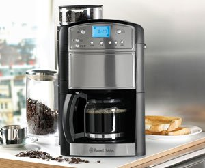 Russell Hobbs Bean To Cup Coffee Maker : Russell Hobbs Coffee Maker - Platinum Grind and Brew - Review & Discounts
