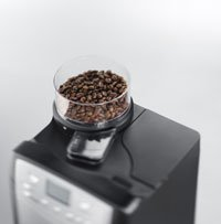The Grind and Brew uses beans or filter coffee