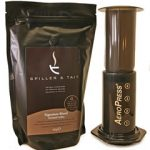 Aerobie AeroPress Coffee Maker & 500g of Spiller & Tait Signature Blend Ground Coffee Gift Box
