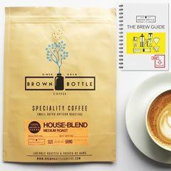Brown Bottle Coffee House Blend Coffee Beans coffee gifts