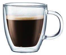 bodum double wall coffee mug