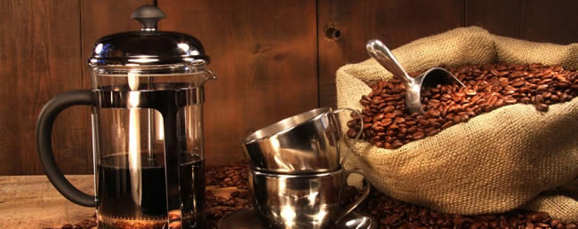 French Cafetiere Coffee Beans