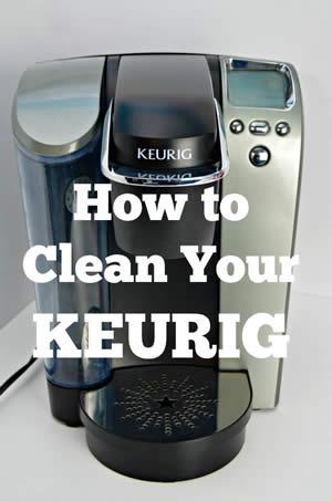 How to clean Keurig Coffee Machine