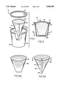 Keurig K-cup patent drawing