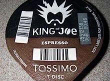 King of Joe Espresso T-Discs