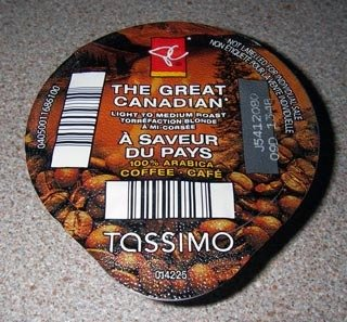 President's Choice Great Canadian T-Discs
