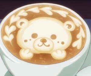 bear cafe late art