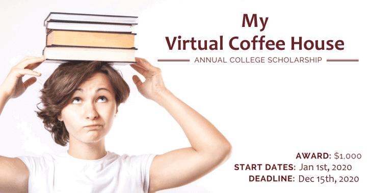 My Virtual Coffee House Scholarship Program