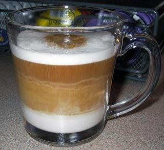 Second Cup Caffe Latte creme