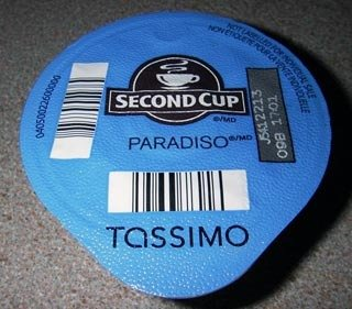 Second Cup Paradiso Coffee pods