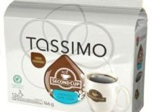 Second Cup Paradiso Dark Coffee T-Discs for Tassimo