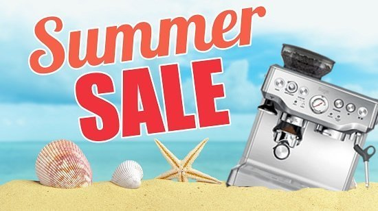 Summer coffee machine sales