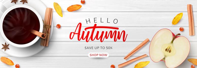 Autumn coffee machine sales