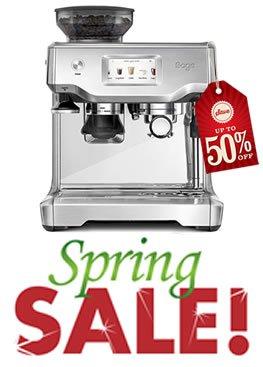 Coffee Machine Spring Sales