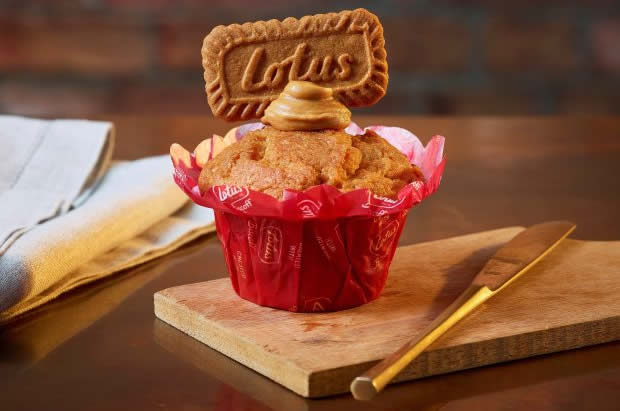 costa coffee lotus biscoff muffin