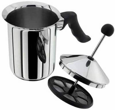 judge manual milk frother