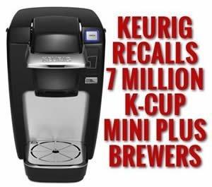 keurig k10 mini recall